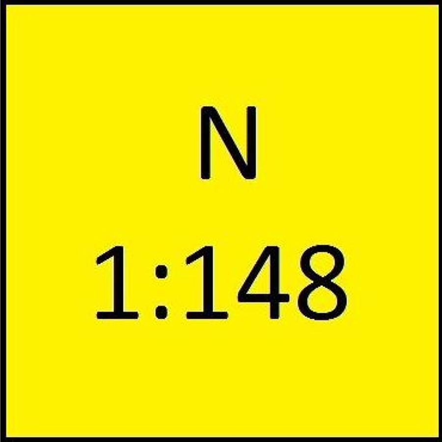 1:148 N Scale