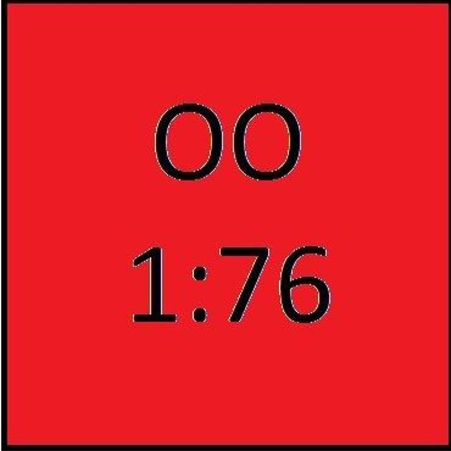 1:76 OO Gauge