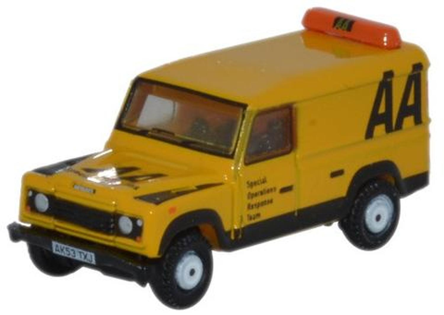 1:148 N Gauge Land Rover Defender LWB Hard Top AA