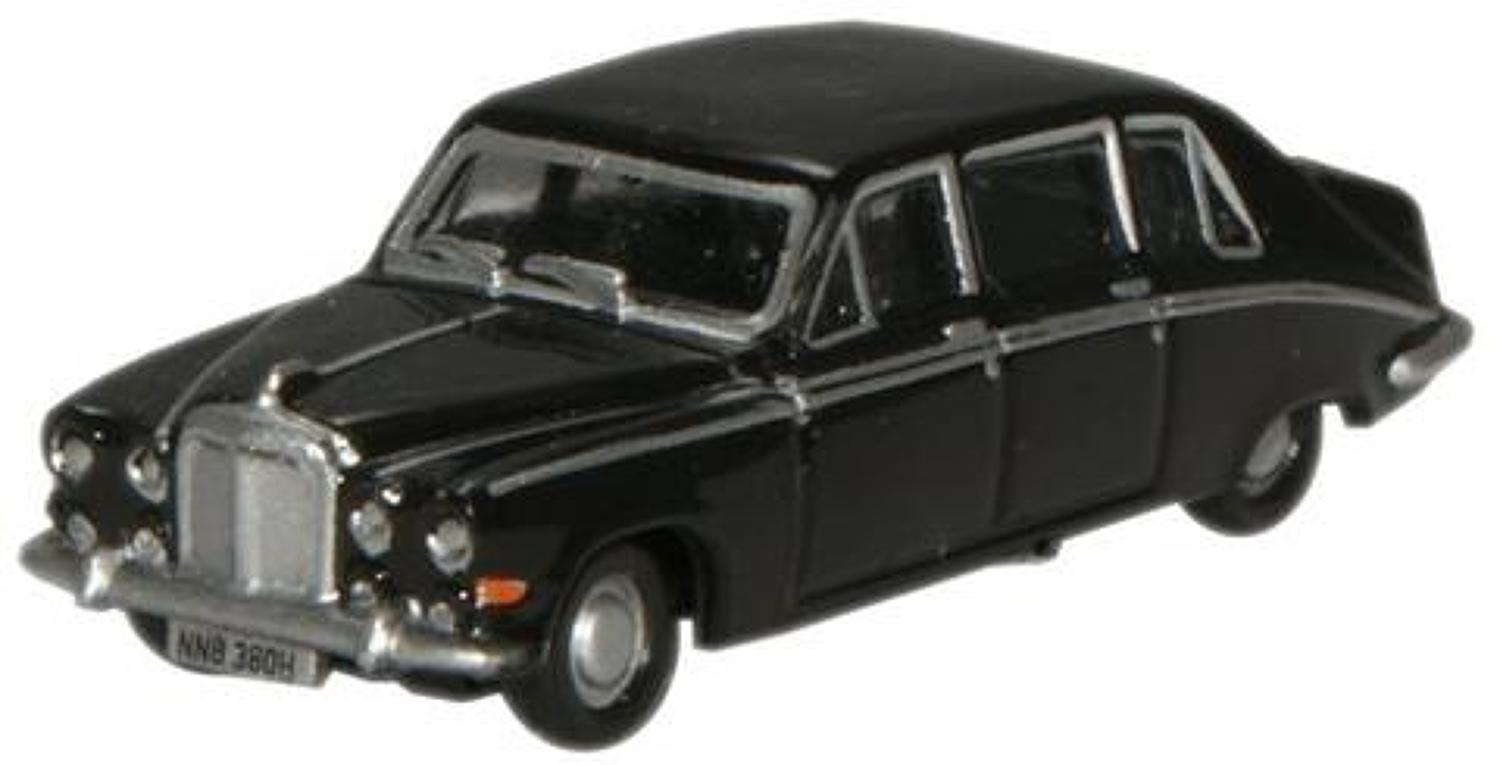 1:148 N Gauge Oxford Diecast  Black Daimler DS420 Limousine.