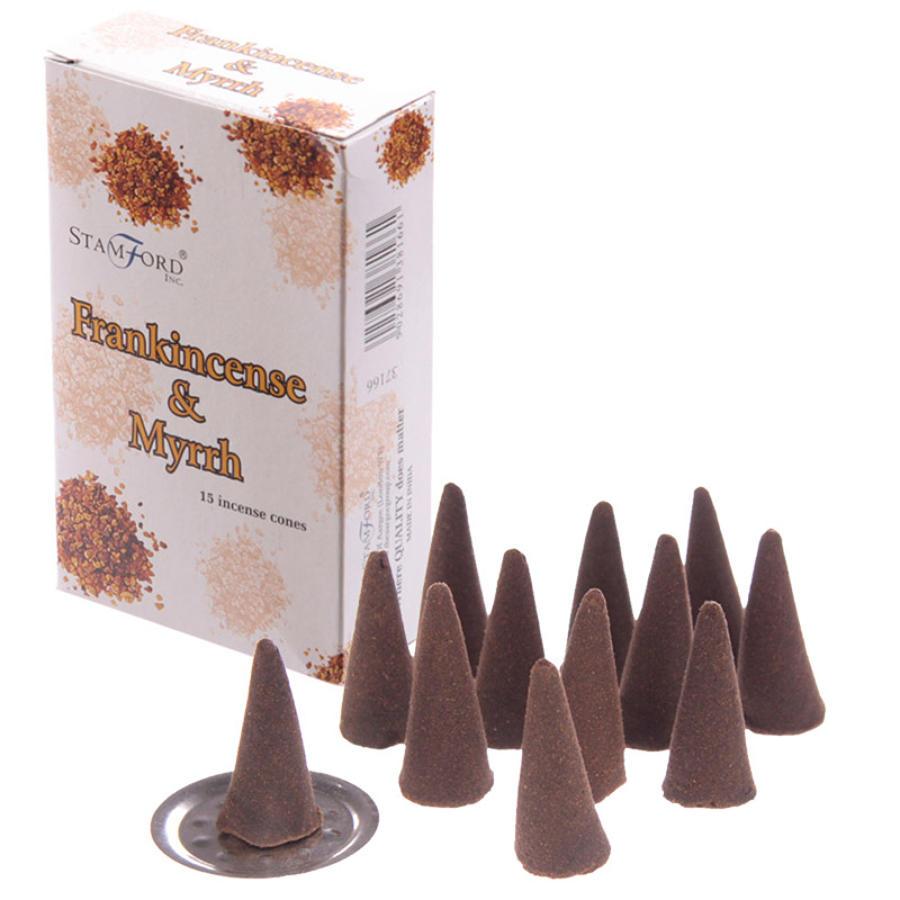 Stamford Frankincense & Myrrh Cones