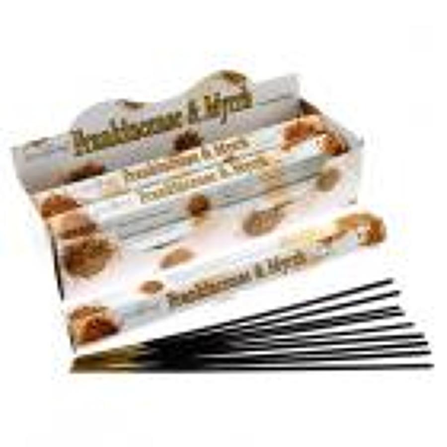 Stamford Hex Frankincense & Myrrh Sticks