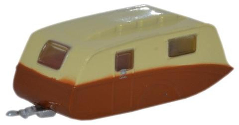 Cream & Brown Caravan