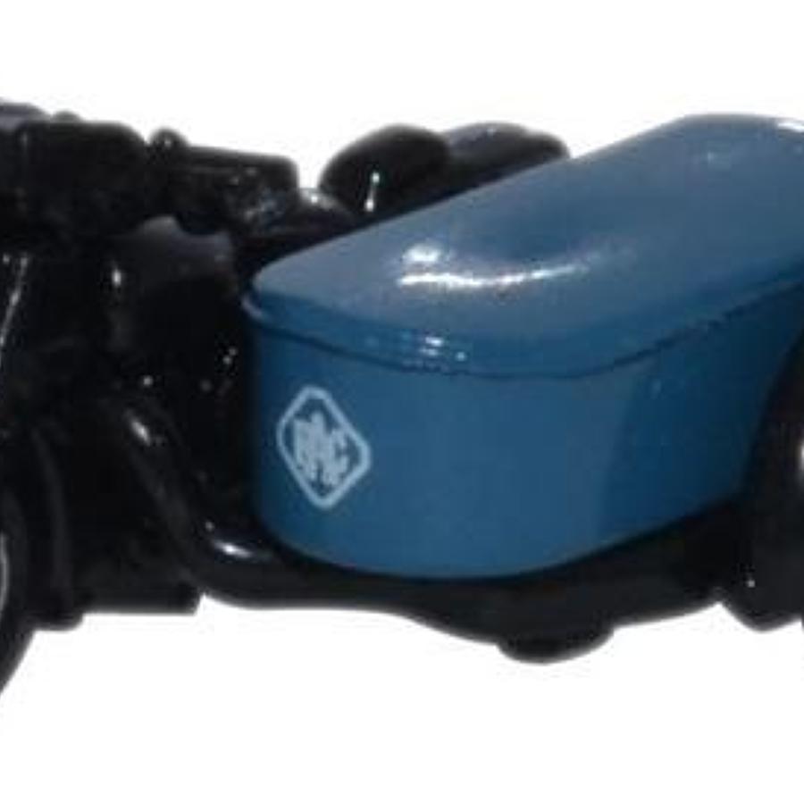 1:148 RAC Motorbike and Sidecar