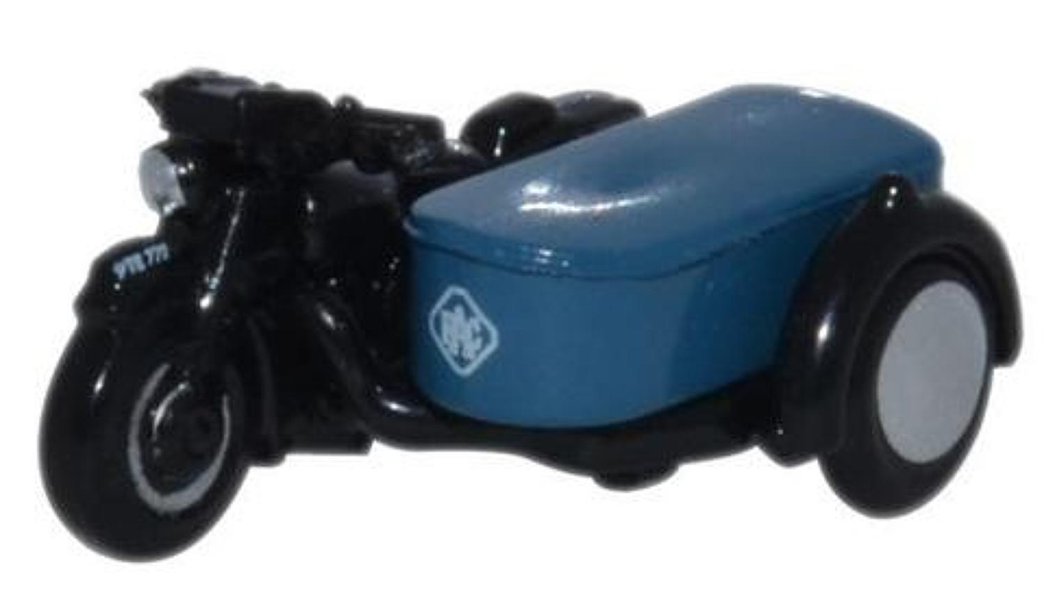 1:148 RAC Motorbike and Sidecar