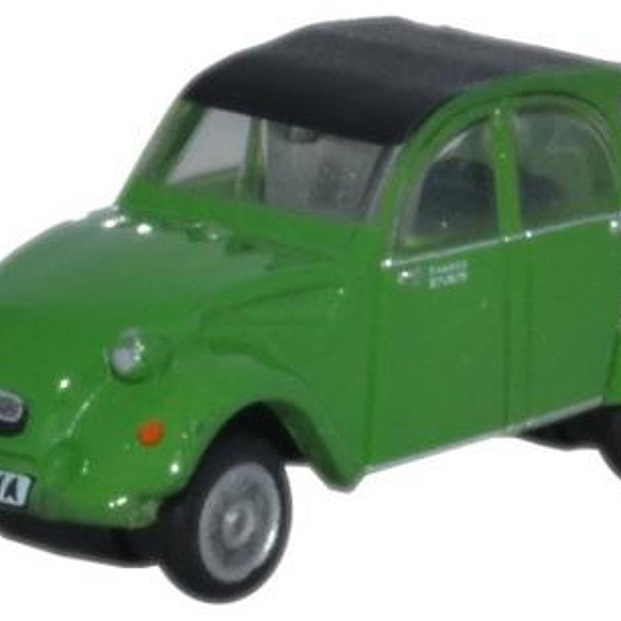 Citroen 2CV Green