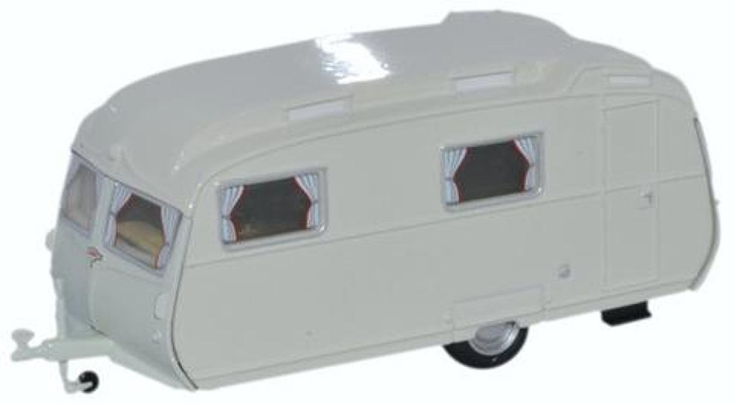 1:76 Carlight Caravan Light Grey