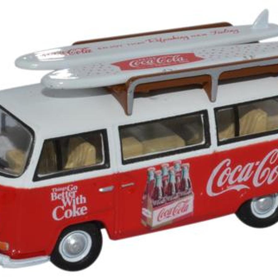 Volkswagen Camper Van Coca Cola