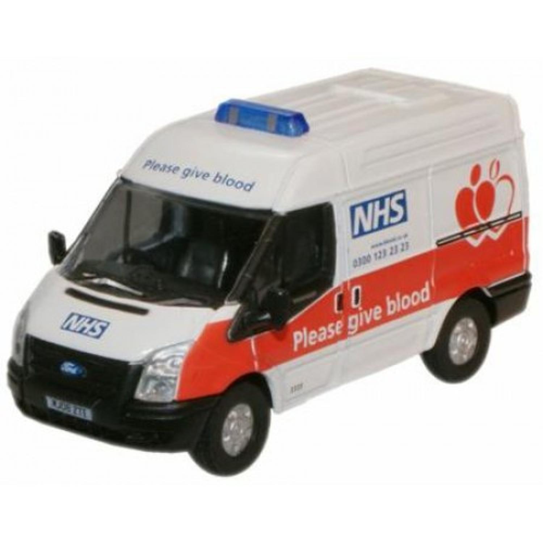 NHS Blood Donor Van