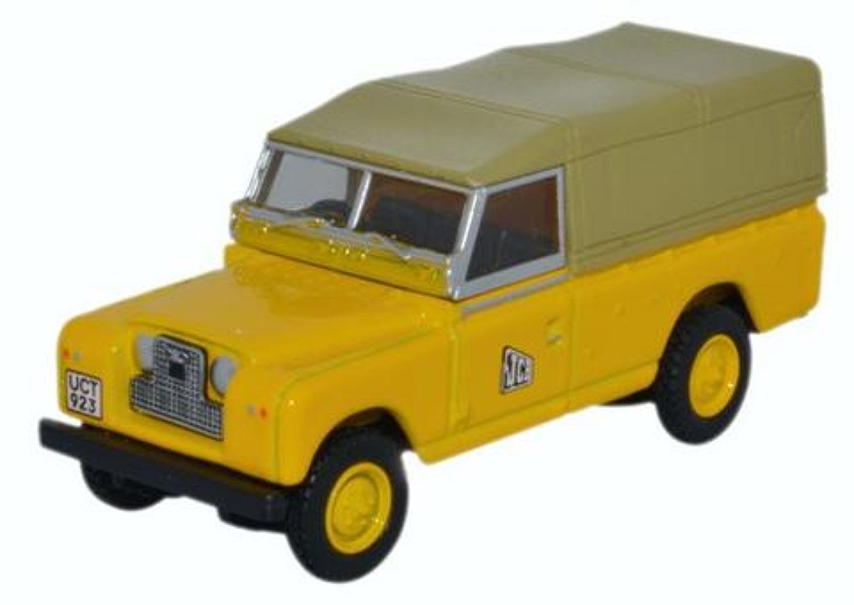 Land Rover Series II LWB JCB