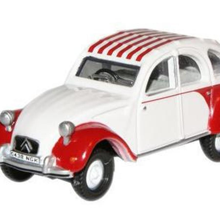 2CV Dolly Red/White