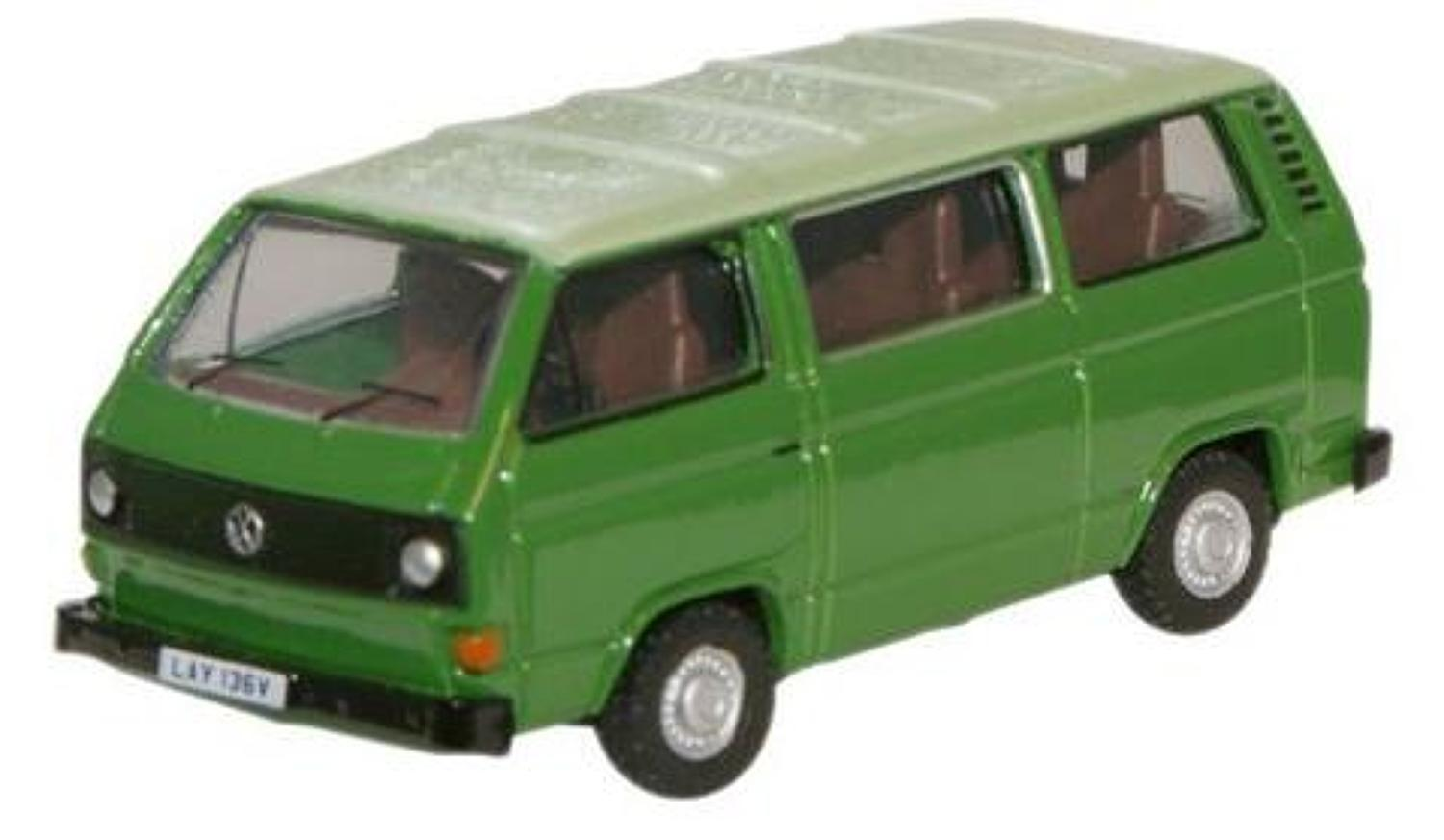 VW T25 Bus Lime Green