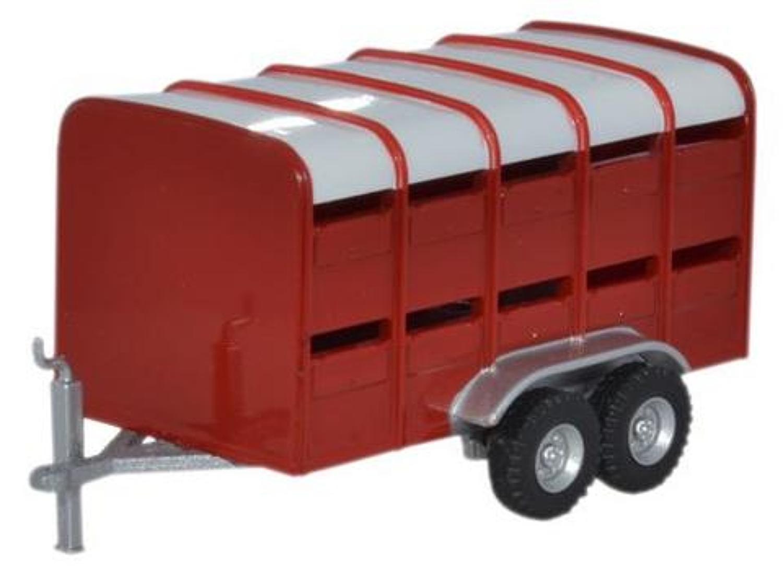 Livestock Trailer Red