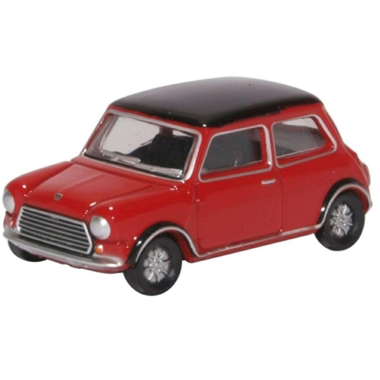Mini Cooper MkII Tartan Red/Black